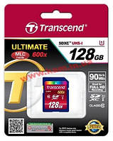 Карта памяти Transcend Ultimate SDXC 128GB Class 10 UHS-1 (TS128GSDXC10U1)