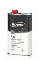 Моторное масло Rovas RX5 10W-40 A3/B4 (1л)/ для легковых автомобилей