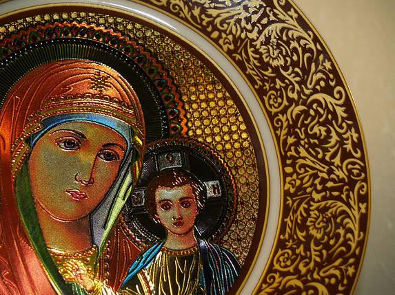 "Тарелка декоративная ""Дева Мария с младенцем"", фото 2"