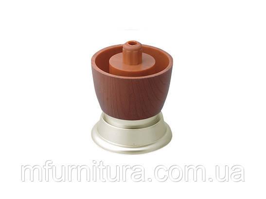 Ножка мебельная PN 0106 / H=45 мм / ДС-Фурнитура