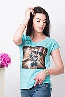 Женские модные футболки