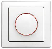 Выключатель DELUX WEGA 9101 диммер (реостатного типа) белый