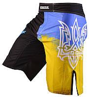 Шорты для MMA BERSERK  UKRAINE FIGHTER black