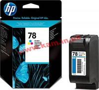 Оригинальный струйный картридж HP 78XL увеличенной емкости, Трехцветный (C6578A)