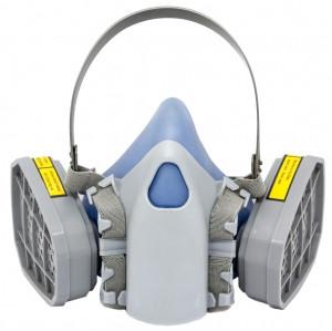 Респиратор ЗМ Китай с двумя фильтрами (банка трапеция)   - Компания SvarMetall: сварочное, бензо и электро оборудование в Харькове