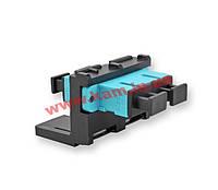 Модуль LANS 2ХSC MM (OM3/ 4), для установки в розетку/ патч-панель, чорний,Corning (LANS-MOD-E7-B)