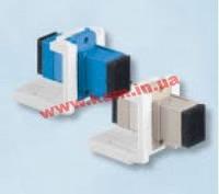 Модуль FutureLink 1ХSC MM (OM2) для установки в розетку/ патч-панель, Corning (LAXLSM-00101-C003)