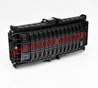 Муфта прохідного типу, 6 мех. кабельних вводів, 8 сплайс-касети, 96 сплайс-протектори (DF-J08-96)