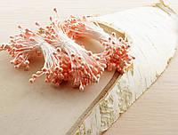Тычинки на нитке бледно-розовые (1 уп.=160тыч.)