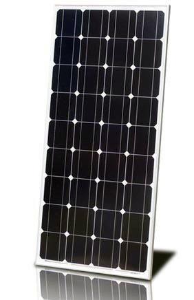 Монокристалическая солнечная панель (батарея) ALM-200M 200Вт, фото 1