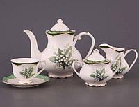"""Чайный набор """"Ландыш"""" из 15 предметов"""