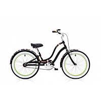 """Велосипед 20"""" ELECTRA Sugar Skulls 1 Girls' Black"""