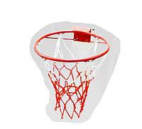 Кольцо баскетбольное детское №3 + Сетка (ДЕТСКИЙ КОМПЛЕКТ)
