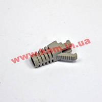 Колпачок пластиковый, 6.5 мм, для коннекторов STP кат. 6, серий, EPNew (BOOT-E6.5GY)