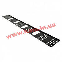 Вертикальний кабельный организатор 24U для шкафов MGSE, (ширина 120 мм) (UA-MGSE24VCMB)
