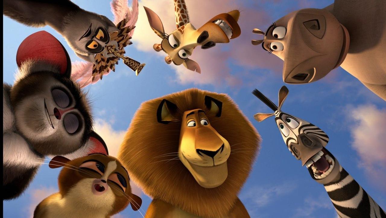 Мадагаскар Вафельная картинка