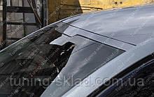 Спойлер на лобовое стекло Шкода Октавия А7 бленда (накладка на стекло Octavia A7)