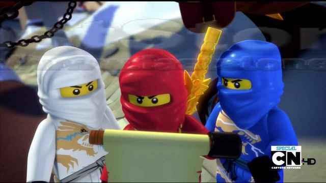 Вафельная картинка Ниндзяго Лего 11