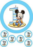 МиккиМаус 6 Вафельна картинка