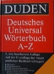 Duden. Deutsches Universal Wörterbuch