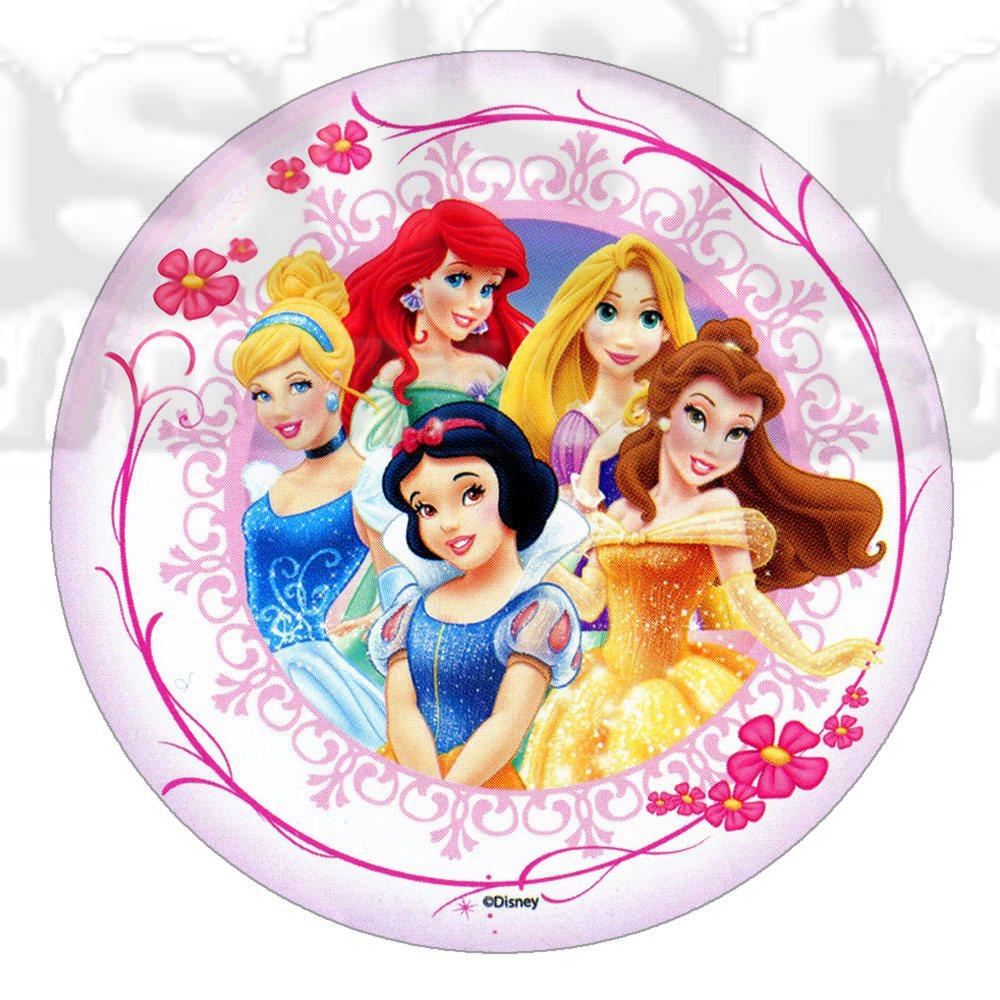 Принцессы 11  Вафельная картинка