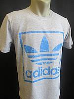 Светло-серые футболки с эмблемой., фото 1