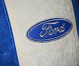 Сувенирная подушка авто с логотипом машины Ford форд, фото 2