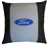 Сувенирная подушка авто с логотипом машины Ford форд