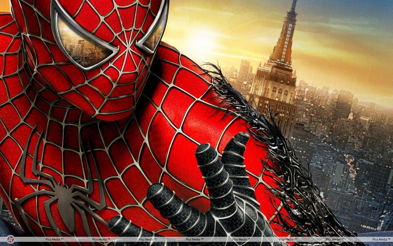 Вафельная картинка Человек паук 5