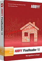 ABBYY FineReader 10 Home Edition (AF10-8S1B01-901-BOX)