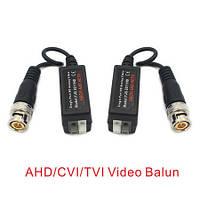 Комплект 2 пассивных HD видеобалунов c поддержкой AHD/CVI/TVI камер, передача видео по витой паре (YJS-2011HD)