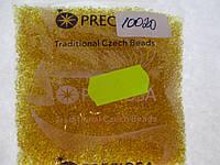 Бисер 10/0, цвет -  золотой песок, №10020 (уп.50 грамм)