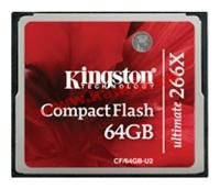 Карта памяти Kingston Compact Flash (CF/64GB-U2)