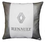 Подушка автомобильная с логотипом авто Renault рено, фото 2