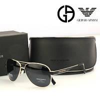 Солнцезащитные очки в стиле Armani (3204) silver, фото 1