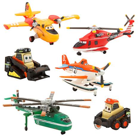 Набор самолетов Летачки Тачки Дисней / Planes: Fire & Rescue Play Set Disney