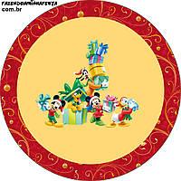 Микки маус 25 Вафельная картинка