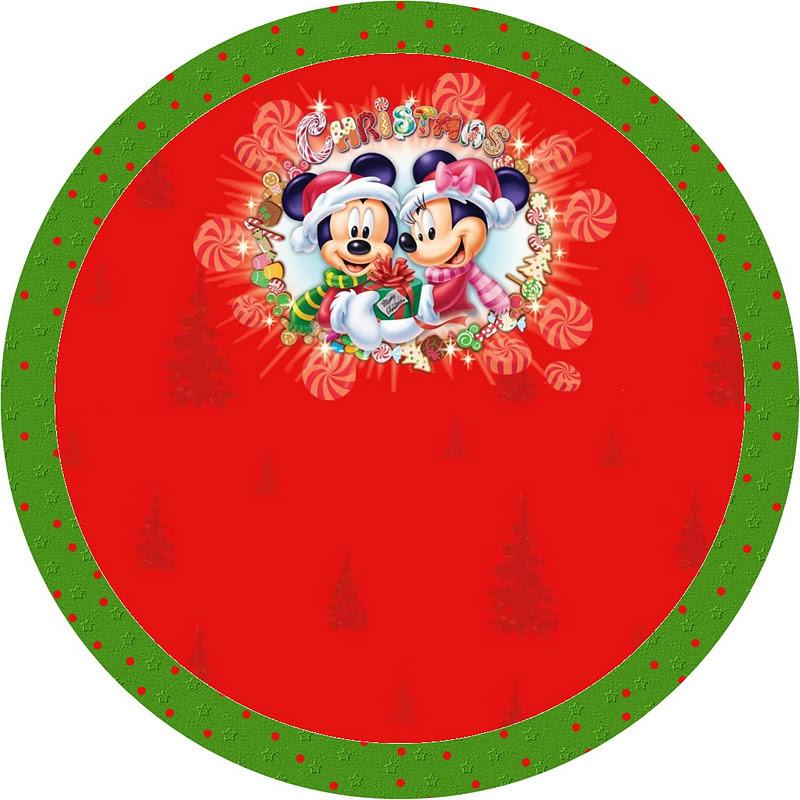 Микки Маус 34 Вафельная картинка