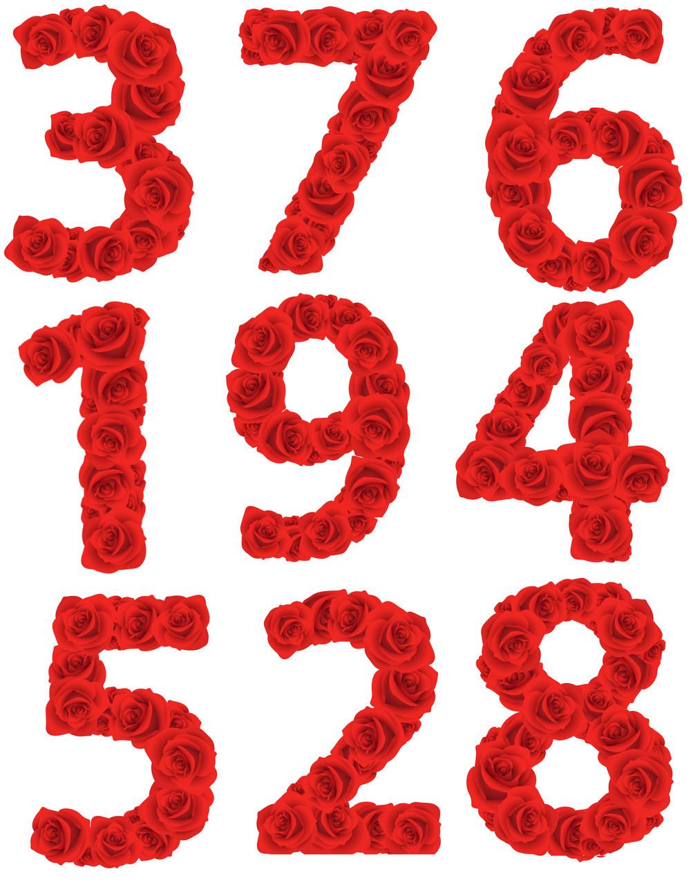 Цифры 25 вафельные картинки