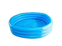 Бассейн детский, круглый, Хрустальный, 3 кольца, 630 л, Intex