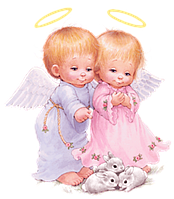 Ангелочки 55 Вафельная картинка