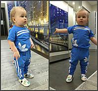 Детский стильный спортивный костюм:футболка и штаны  (5 цветов)