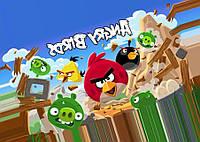 Angry Birds 12 Вафельная картинка