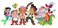 Джейк и пираты нетландии 6  Вафельная картинка