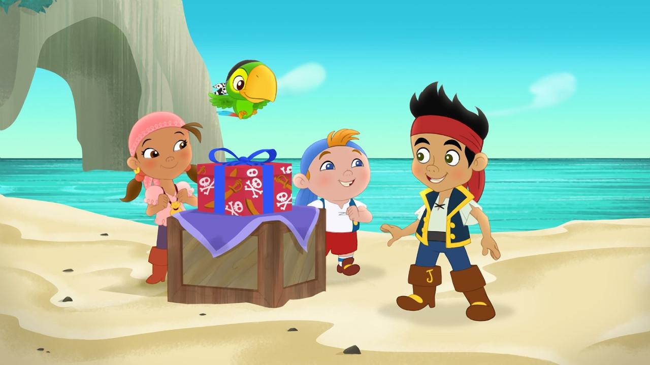 Джейк и пираты нетландии 7  Вафельная картинка