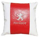 Автомобільна Подушка з логотипом Peugeot, фото 2