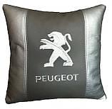 Автомобільна Подушка з логотипом Peugeot, фото 3