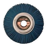 """Щетка абразивная """"Пиранья"""" 150х12х22 мм. синяя Р180"""