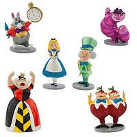 Набор фигурок Алиса в стране чудес Дисней / Alice in Wonderland Play Set Disney