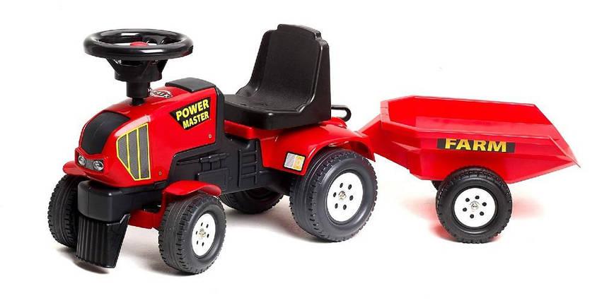 Трактор-каталка POWER MASTER с прицепом  Falk 1013B, фото 2